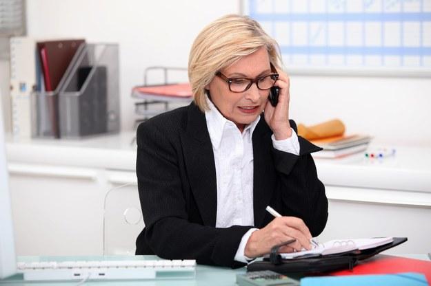 Rynek pracy czeka na troche starsze kobiety /123RF/PICSEL