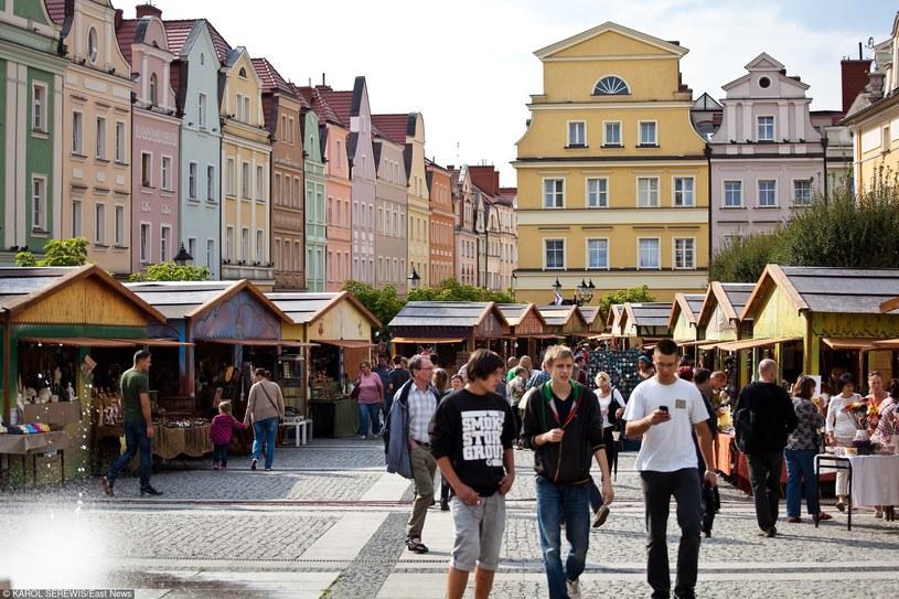 Rynek w Bolesławcu/fot. K. Serewis /East News