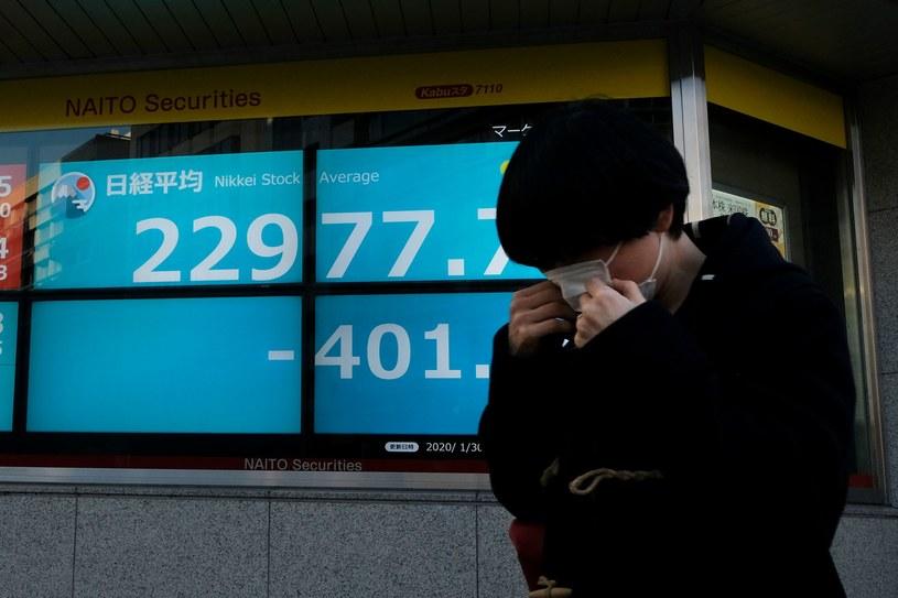 Rynki boją się koronowirusa /AFP