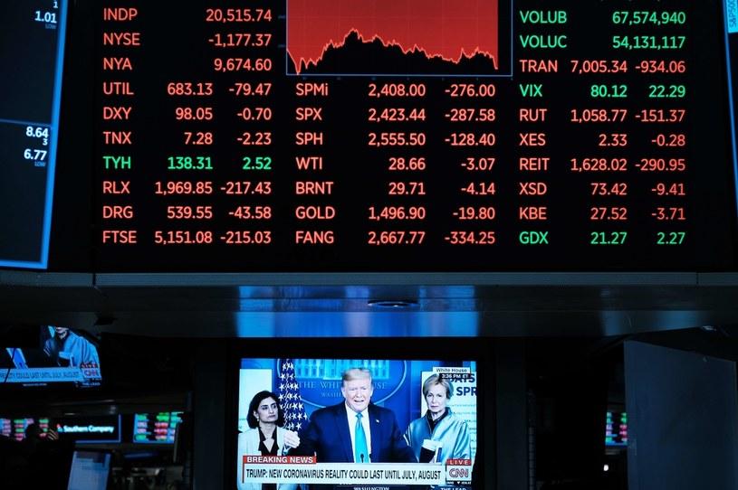 Rynki finansowe boją się powrotu pandemii /AFP