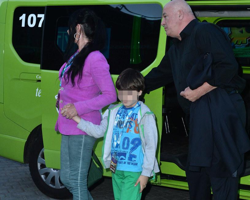 Rynkowski z rodziną /Jarosław Antoniak /MWMedia