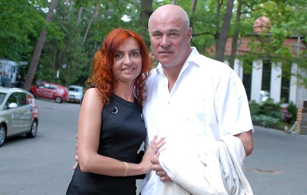 Rynkowski z żoną, fot. Andrzej Szilagyi  /MWMedia