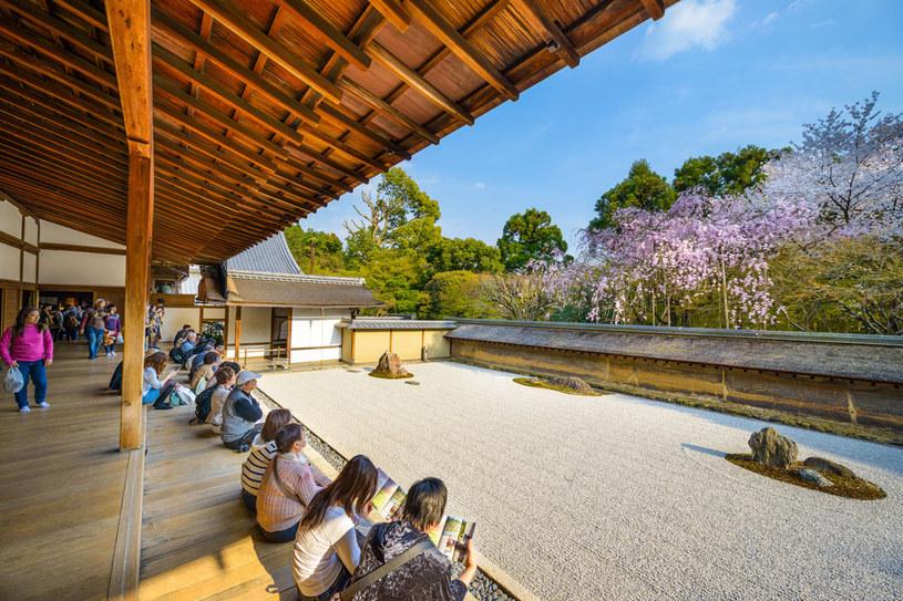 Ryōan-ji, najsłynniejszy w Japonii ogród zen /123RF/PICSEL