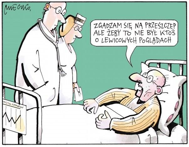 Rys. Andrzej Mleczko /