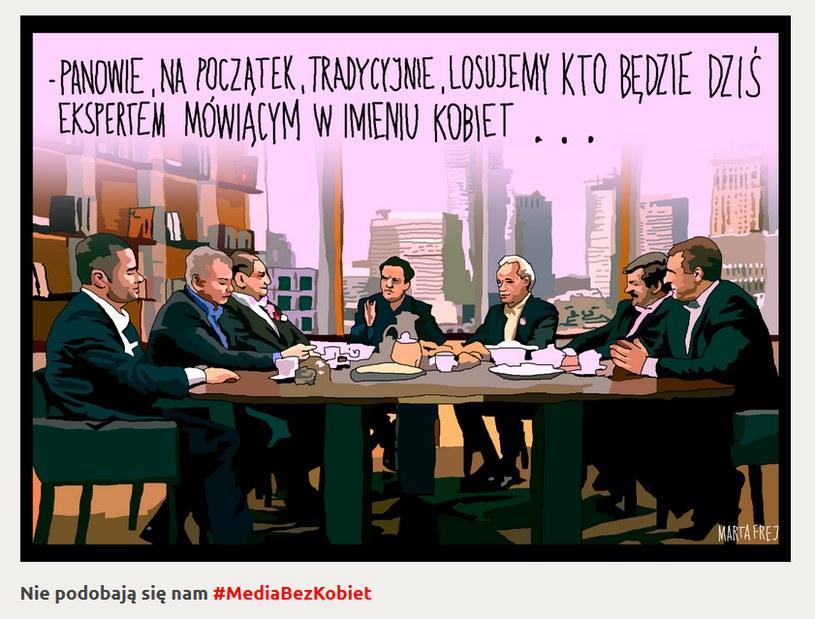 rys. Marta Frej /Materiały promocyjne konferencji ekspertki.org /