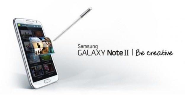 Rysiki Wacom zaadaptowały się w Samsungach Galaxy Note II /materiały prasowe