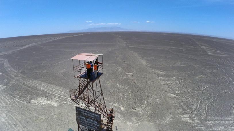 Rysunki z Nazca znajdują się ponad 400 km od Limy /AFP