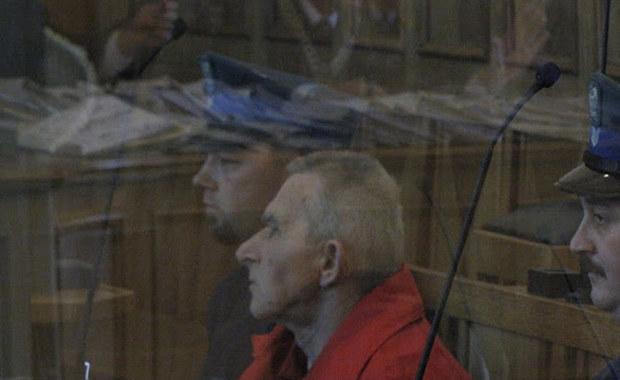 Ryszard Cyba na sali rozpraw łódzkiego sądu