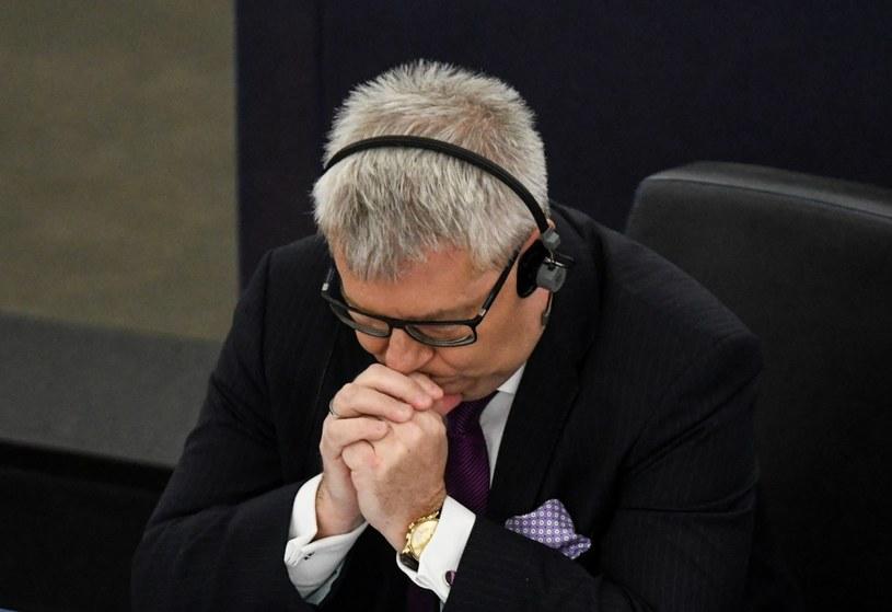Ryszard Czarnecki: Odwołanie mnie ze stanowiska to konsekwentne działanie przeciw Polsce /Patrick Seeger  /PAP/EPA