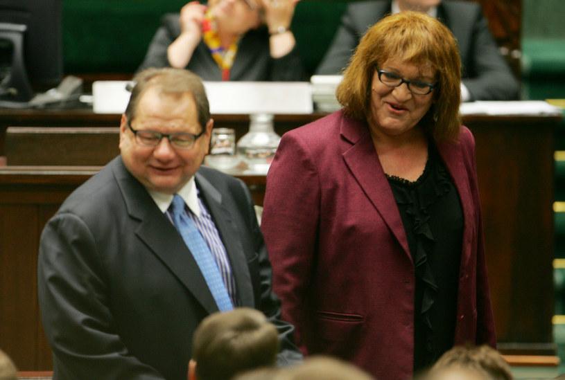 Ryszard Kalisz i Anna Grodzka /Piotr Kowalczyk