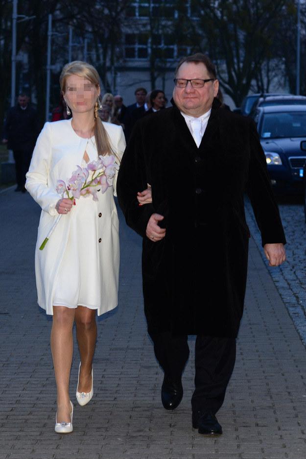 Ryszard Kalisz i Dominika /- /Foto IP