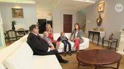 Ryszard Kalisz pokazał dom i rodzinę