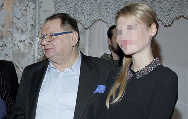 Ryszard Kalisz z żoną /Jordan Krzemiński /AKPA