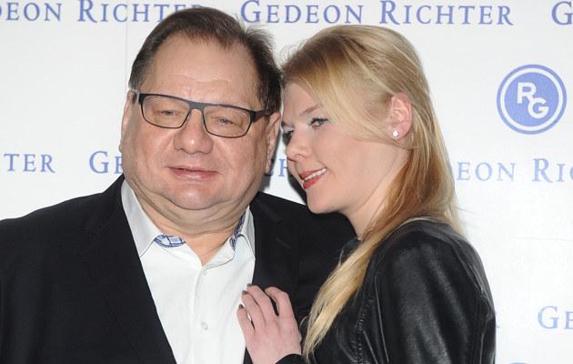 Ryszard Kalisz z żoną /Piotr Andrzejczak /MWMedia
