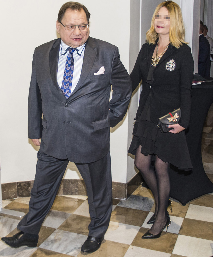 Ryszard Kalisz z żoną /SYLWIA DABROWA / POLSKA PRESS /East News