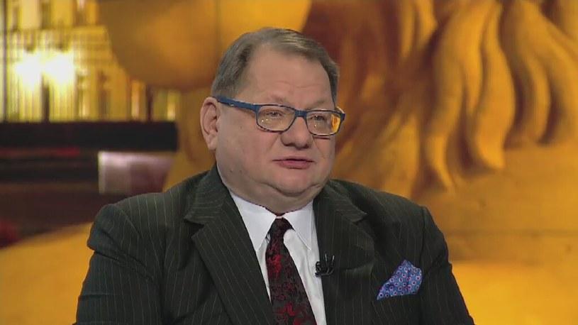 Ryszard Kalisz /TVN24/x-news