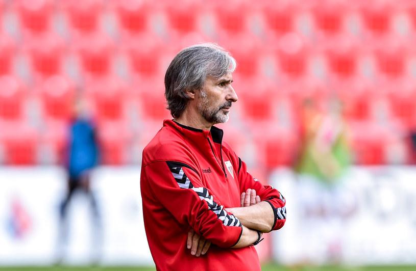 Ryszard Komornicki - bezkompromisowy i wymagający nie tylko w roli trenera /Newspix