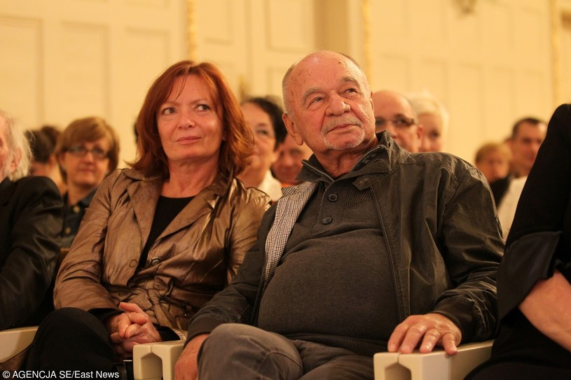 Ryszard Kotys z żoną Kamilą Sammler /East News