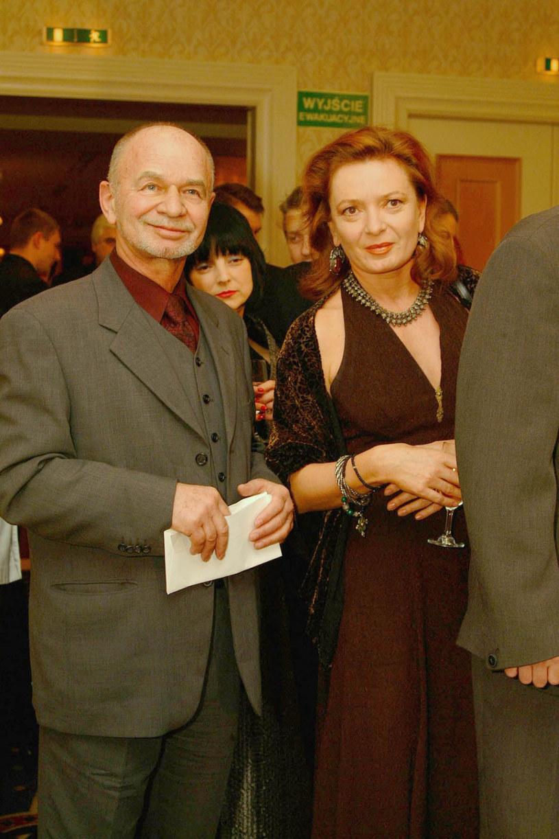 Ryszard Kotys z żoną Kamilą Sammler /Niemiec /AKPA