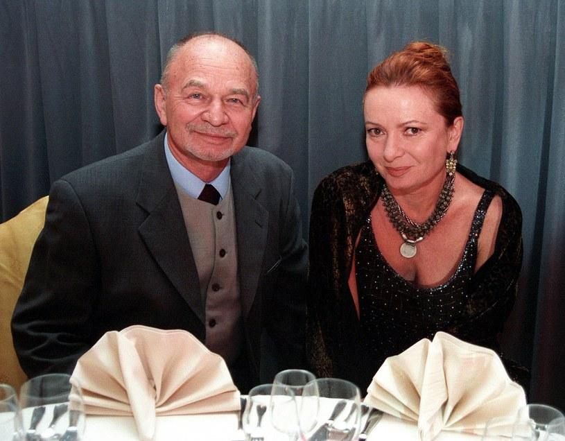 Ryszard Kotys z żoną /Tricolors /East News