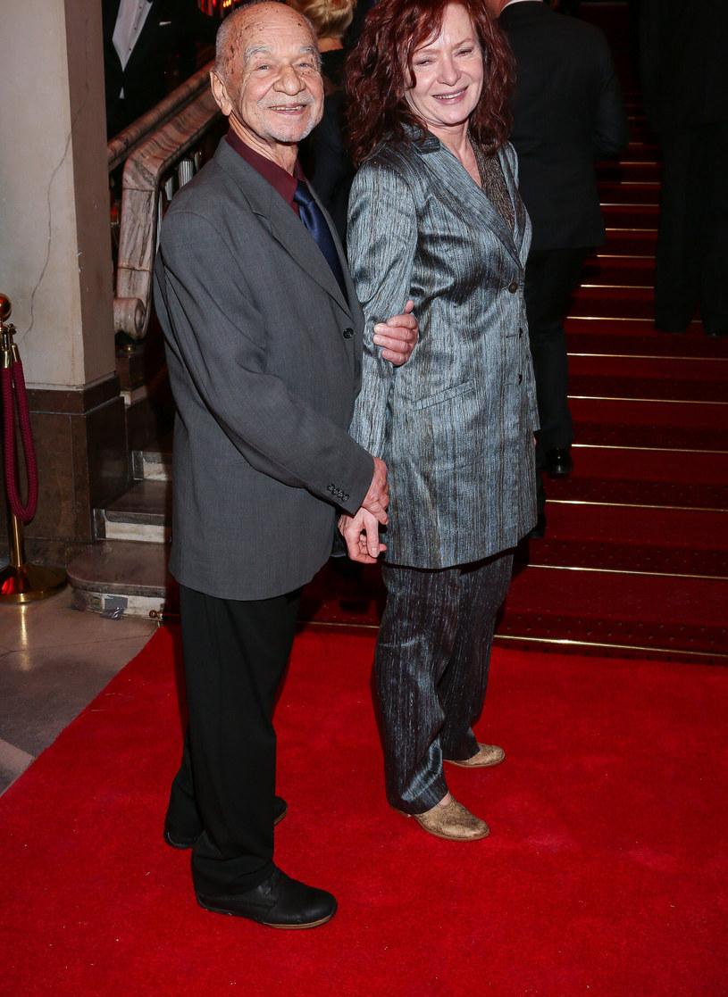 Ryszard Kotys z żoną /Kamil Piklikiewicz/East News /East News