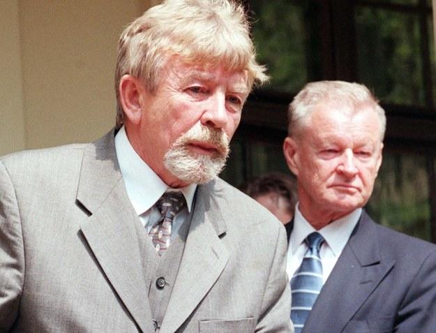 Ryszard Kukliński i Zbigniew Brzeziński /PAP/CAF-RADEK PIETRUSZKA /PAP