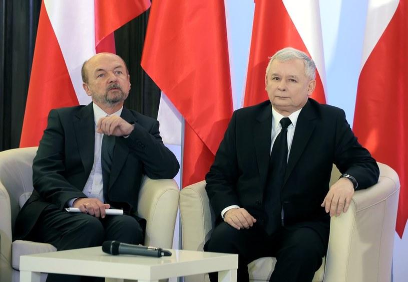 Ryszard Legutko i Jarosław Kaczyński /Jan Bielecki /East News