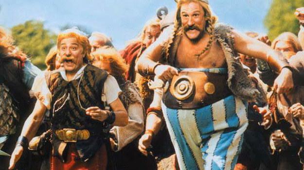 Ryszard Nawrocki wielokrotnie użyczał głosu postaci Asteriksa /materiały dystrybutora