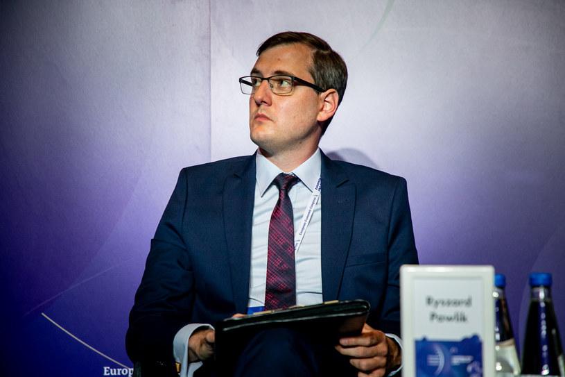 Ryszard Pawlik, doradca parlamentarny Jerzego Buzka /Ireneusz Rek /INTERIA.PL