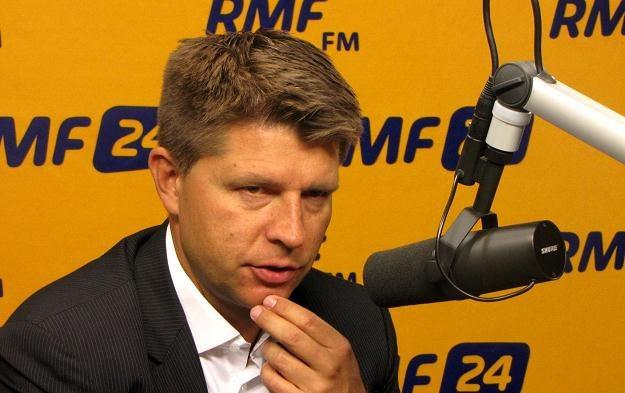 Ryszard Petru, ekonomista, szef Towarzystwa Ekonomistów Polskich /RMF