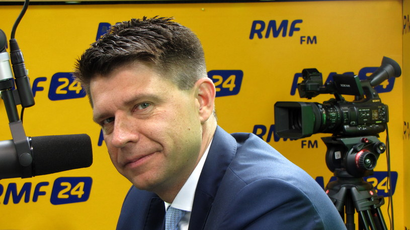 Ryszard Petru gościem Popołudniowej rozmowy w RMF FM /Kamil Młodawski /RMF FM