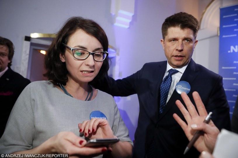 Ryszard Petru i Kamila Gasiuk-Pihowicz /fot. Andrzej Iwanczuk/REPORTER /East News