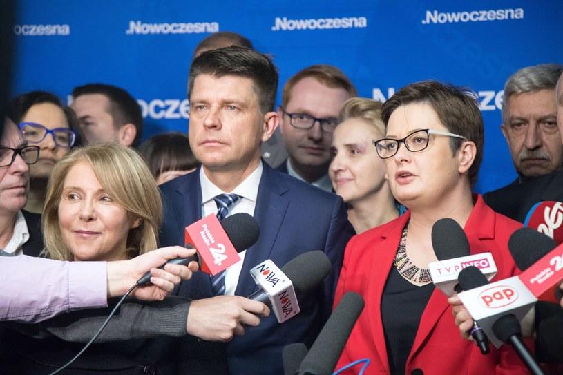 Ryszard Petru i Katarzyna Lubnauer /Paweł Wisniewski /East News