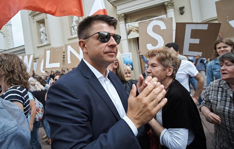 Ryszard Petru ma szczęście do wpadek /Bartosz Krupa /East News