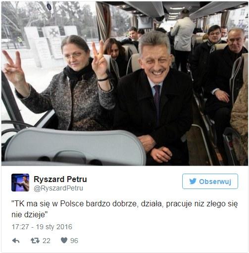 Ryszard Petru na Twitterze /Twitter