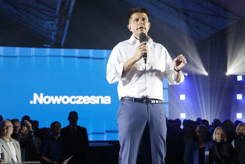 Ryszard Petru podczas konwencji Nowoczesnej /Mariusz Grzelak /East News