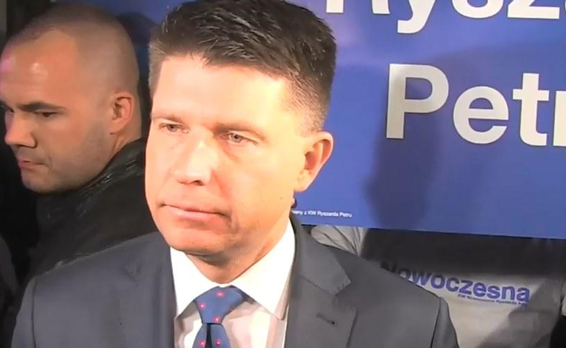 Ryszard Petru prorokuje przyszłą koalicję w Sejmie /INTERIA.PL