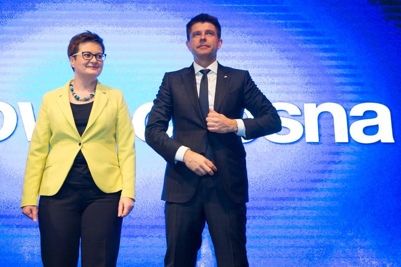 Ryszard Petru przegrywa wybory na przewodniczącego partii, Katarzyna Lubnauer przejmuje władzę w Nowoczesnej, listopad 2017 / Krystian Maj /Agencja FORUM