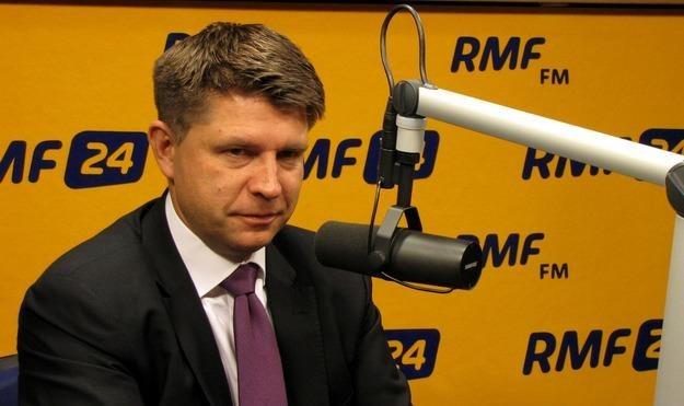 Ryszard Petru, szef Towarzystwa Ekonomistów Polskich /RMF