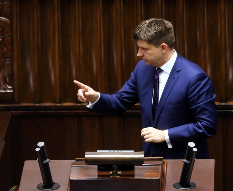 Ryszard Petru w Sejmie /Tomasz Gzell /PAP