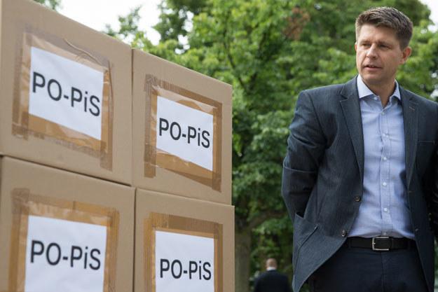 Ryszard Petru w trakcie konferencji NowoczesnejPL /Krystian Maj /Agencja FORUM