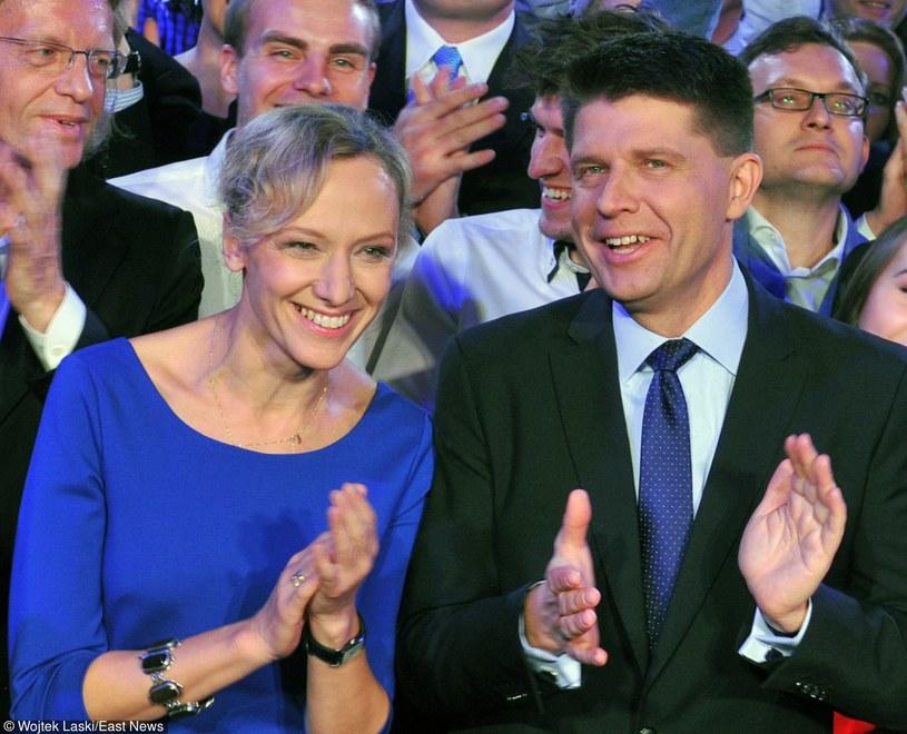 Ryszard Petru z żoną Małgorzatą /Wojtek Laski /East News