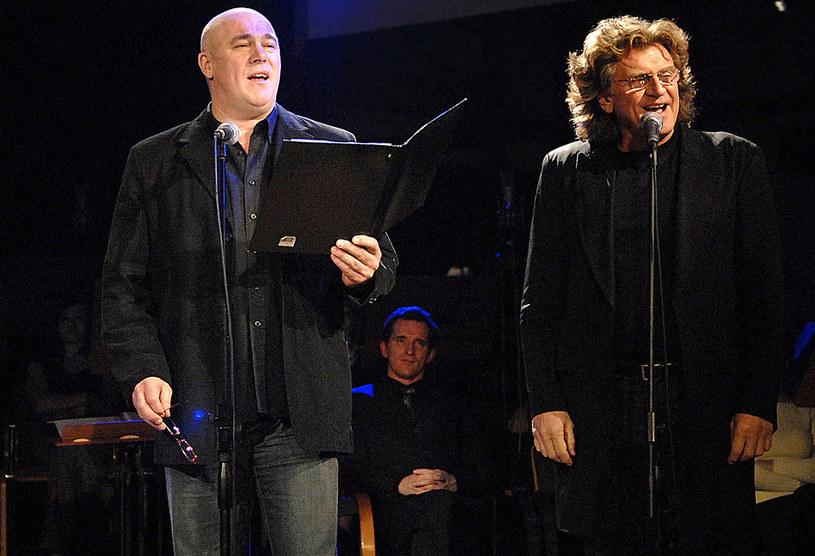 Ryszard Rynkowski i Zbigniew Wodecki w 2006 roku /Prończyk /AKPA
