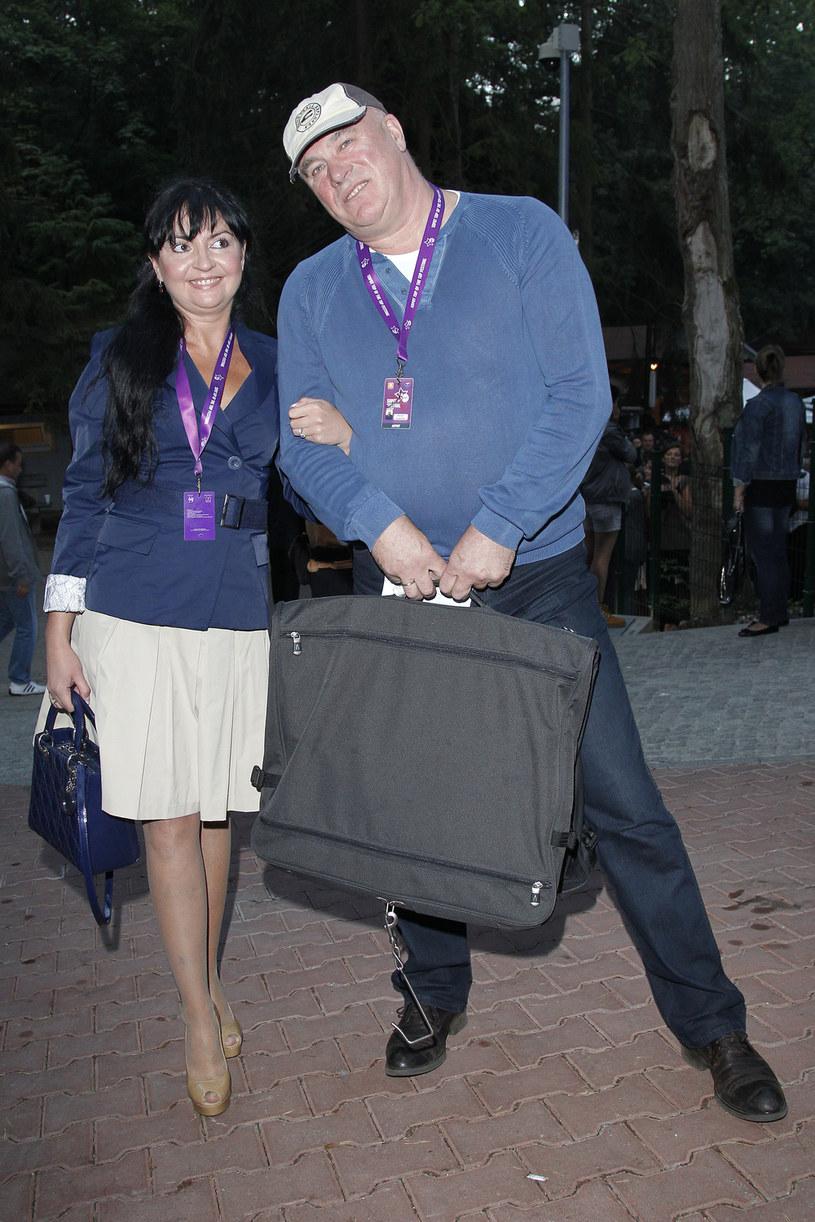 Ryszard Rynkowski z żoną, 2012 rok / Engelbrecht /AKPA