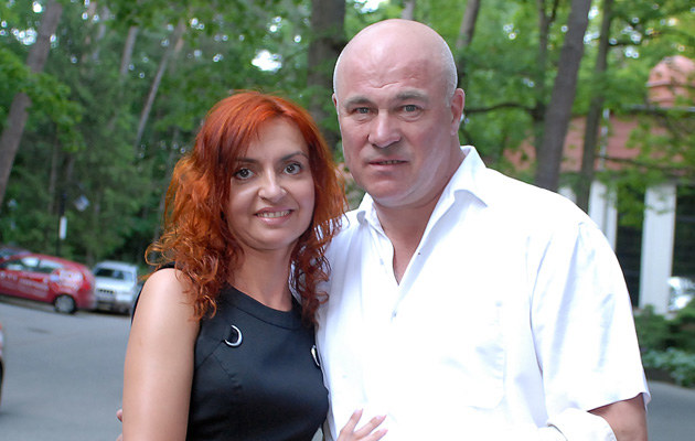 Ryszard Rynkowski z żoną, fot.Andrzej Szilagyi  /MWMedia