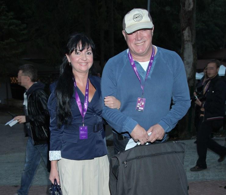 Ryszard Rynkowski z żoną /Paweł Wrzecion /MWMedia