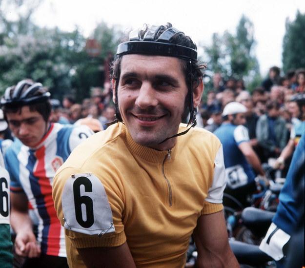 Ryszard Szurkowski na archiwalnym zdjęciu z 1972 roku /Stanisław Dąbrowiecki /PAP