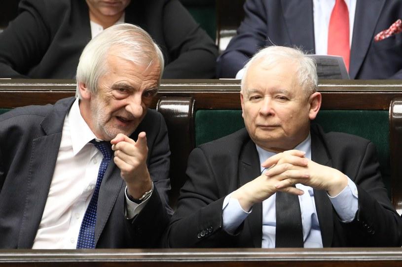 Ryszard Terlecki i Jarosław Kaczyński /STANISLAW KOWALCZUK /East News