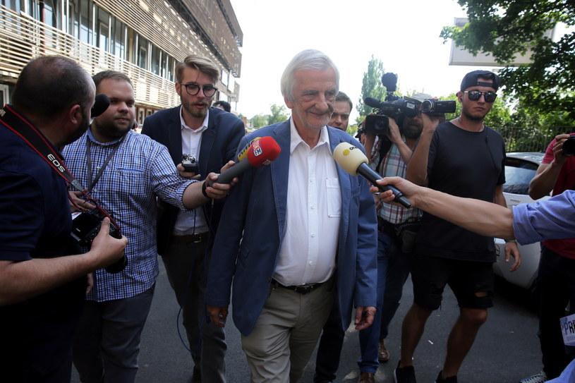 Ryszard Terlecki po spotkaniu władz Prawa i Sprawiedliwości /Tomasz Gzell /PAP