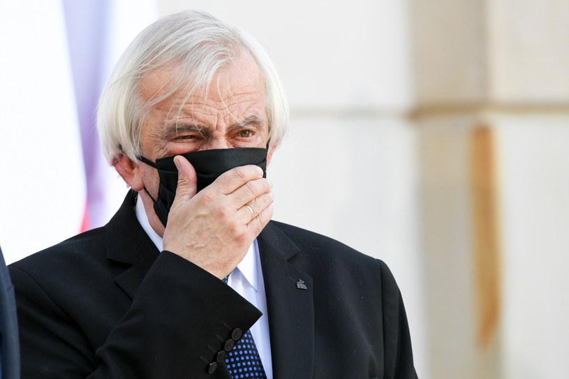 Ryszard Terlecki: Projekt uchwały Senatu ws. budżetu UE to groteska /Jacek Dominski/ /Reporter